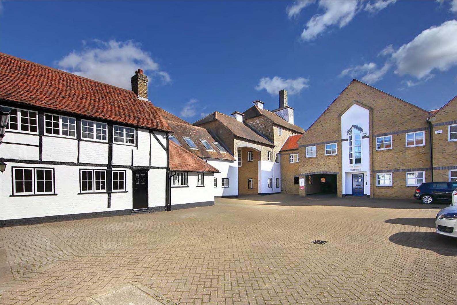 3 Britannia Court, The Green, West Drayton, Development / Residential / Office For Sale - Britannia Court West Drayton courtyard.jpg