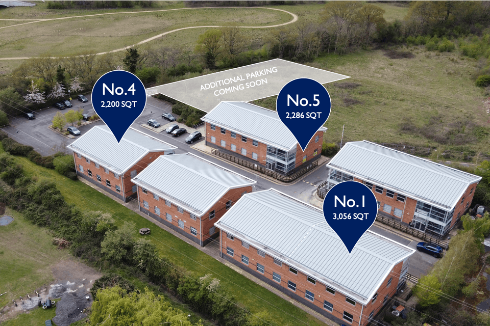 Unit 5 Winnersh Fields, Winnersh, Offices To Let - Winnersh Fields Marked View.png