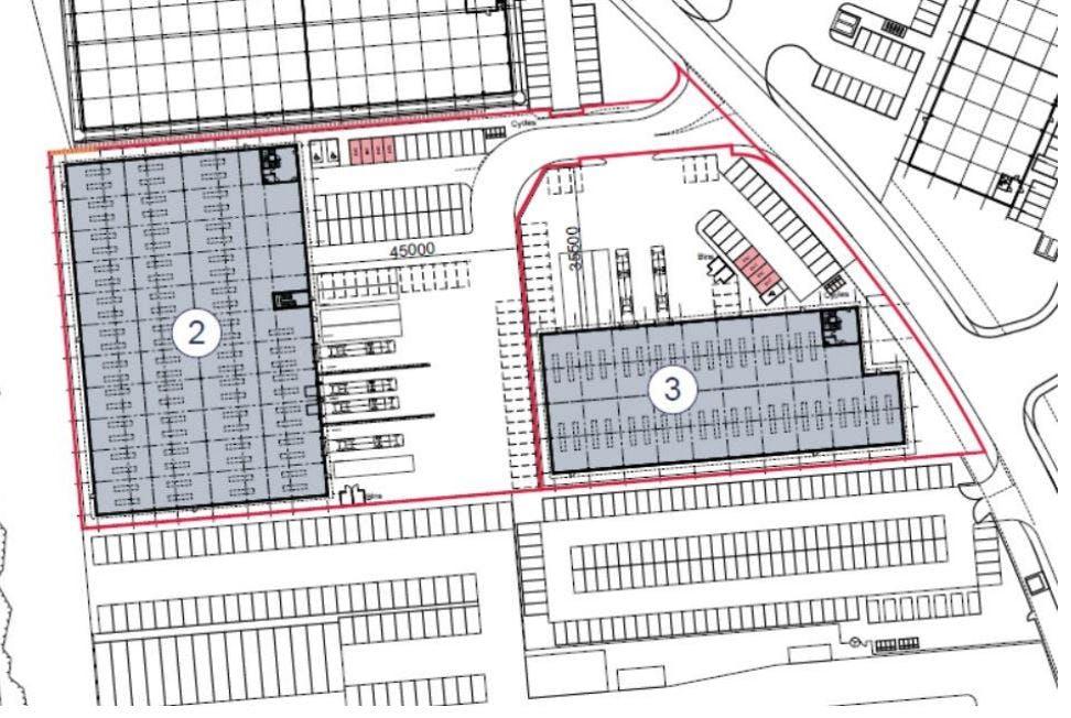 Blenheim 24, Blenheim Industrial Estate, Nottingham, Distribution Warehouse To Let - Blenheim Park layout 2.JPG