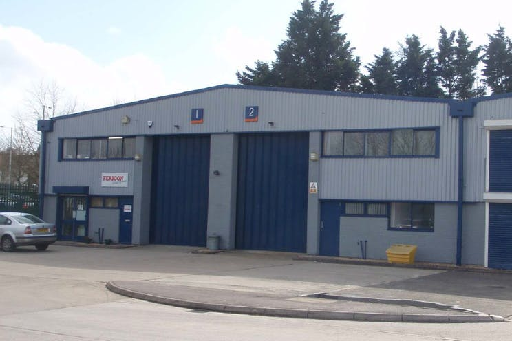 Unit 1 Oxford Road Industrial Estate, Gresham Way, Reading, Industrial To Let - External Photo