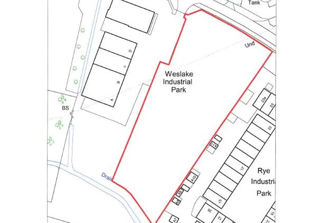 Land at Weslake House, Rye Harbour Road, Rye, Land To Let - Plan.JPG