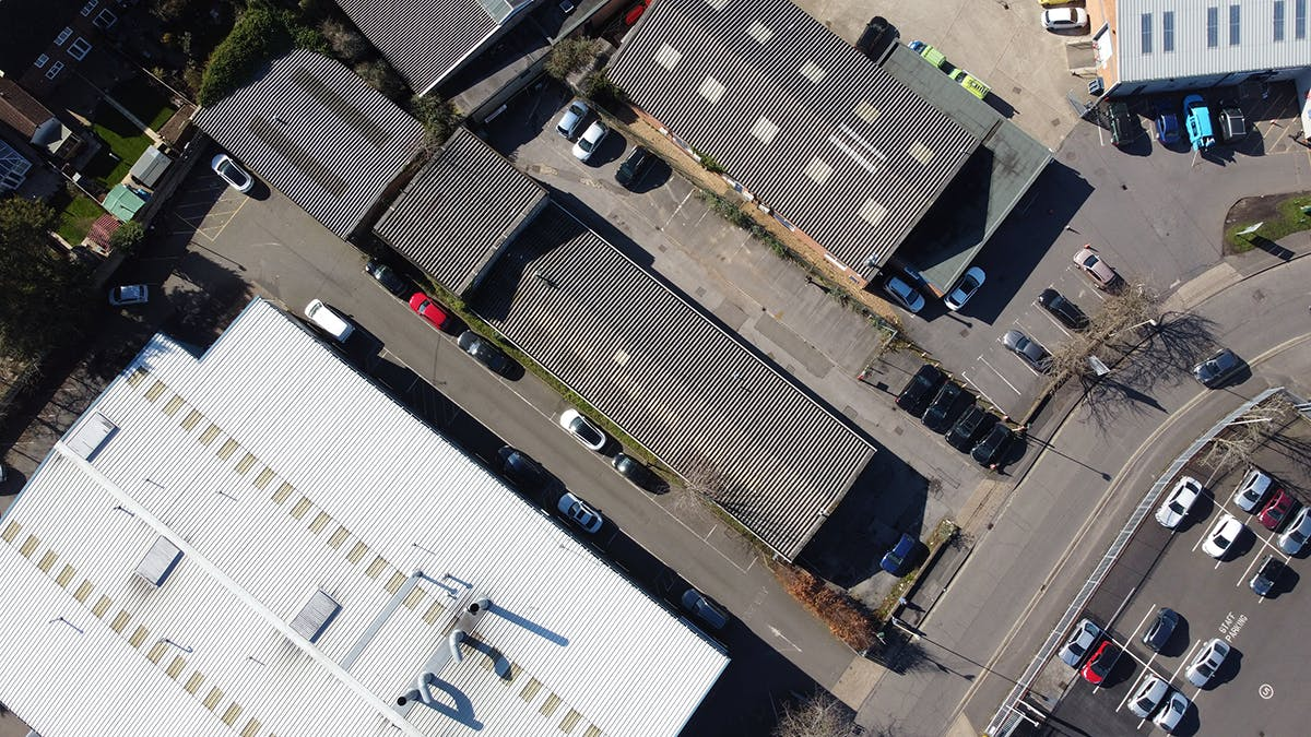 Unit 25B, Blackwater Way Trading Estate, Aldershot, Warehouse & Industrial For Sale - Aerial.jpg