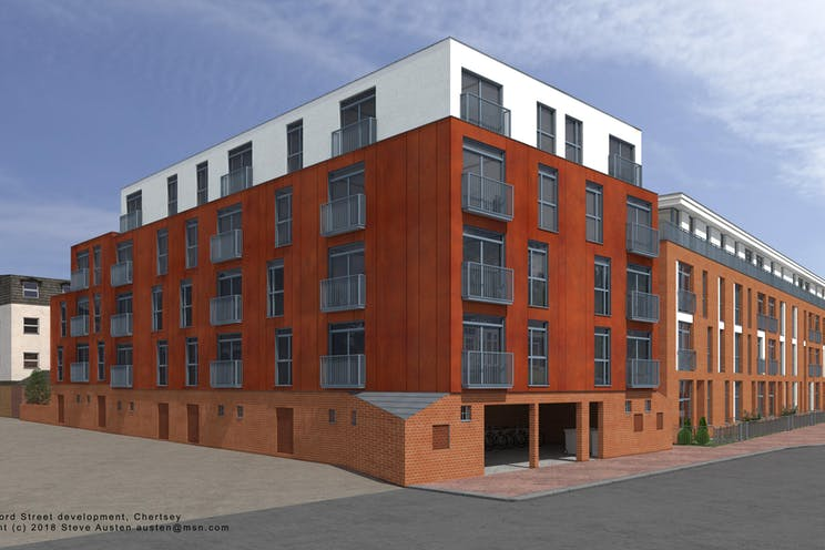1 Guildford Street, Chertsey, Offices / Development (Land & Buildings) For Sale - 1GuildfordStreet.(devlopment).Chertsey.JPG