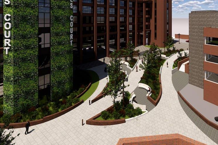 5th Floor Block D, Dukes Court, Woking, Offices To Let - Dukes court proposed external4.jpg