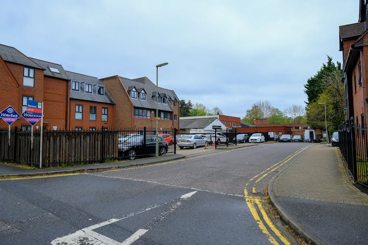 84-100, Park Street, Camberley, Development (Land & Buildings) / Investment Property / Offices / Retail For Sale - rear access via Southwell Park Road.jpg