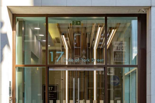 17 Duke of York Street, London, Office To Let - Entrance Exterior.PNG
