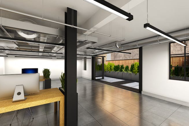 7-10 Beaumont Mews, London, Offices To Let - 1st Floor CGI