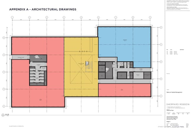 New HQ Building, Silwood Science Park, Ascot, Offices To Let - Ground floor plan main building1.png