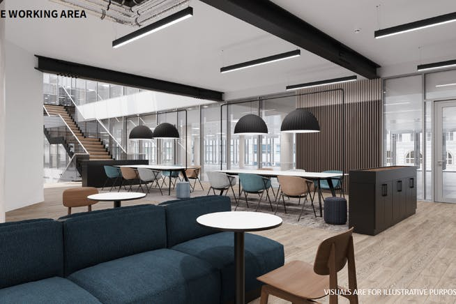The Dock, Kings Langley, Kings Langley, Offices To Let - Agile Working Area CGI.PNG