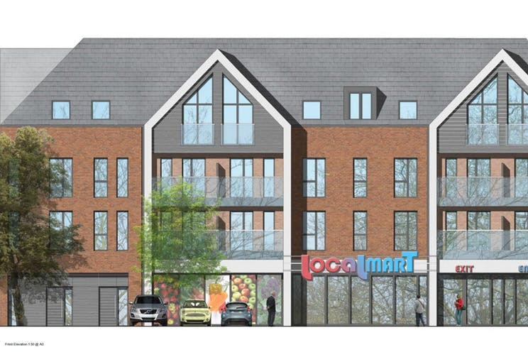 Montague Park, Wokingham, Retail To Let - ElevationSketch.jpg