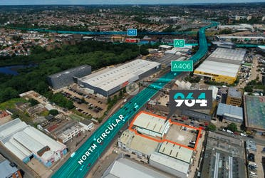 Unit A, 964 North Circular Road, London, Industrial / Trade Counter To Let / For Sale - Aerial.jpg - More details and enquiries about this property