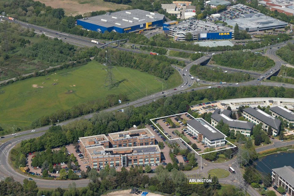 1100 Arlington Business Park, Theale, Development Potential For Sale - 1100 Aerial .jpg