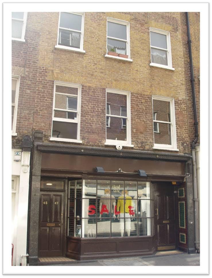 1st Floor, 47 Brewer Street, London, Office To Let - 47 Brewer Street London - exterior.jpg
