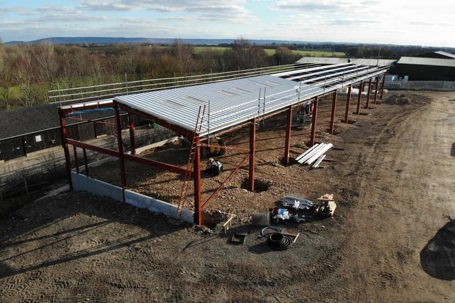 New Industrial Development, Notley Farm, Long Crendon, Office / Industrial To Let - NEW SHED.JPG