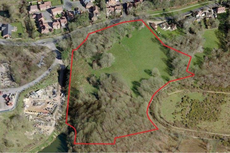 Land South Of Pinchington Lane, Newbury, Newbury, Development / Land For Sale - Aerialphotoofsite.jpg