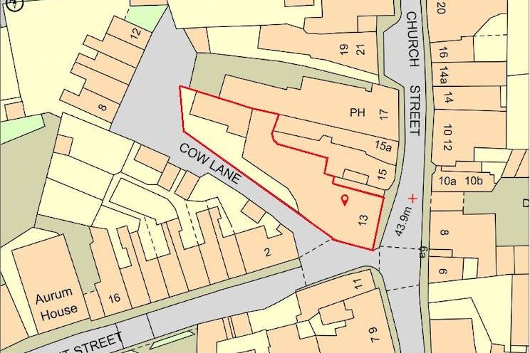 13 Church Street, Godalming, Development (Land & Buildings) / Investment Property For Sale - PromapRedline.JPG