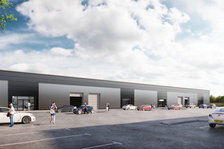 Beacon Hill Road, Fleet, Warehouse & Industrial, Development (Land & Buildings) To Let / For Sale - 15361 Church Crookham CGI 02.jpg