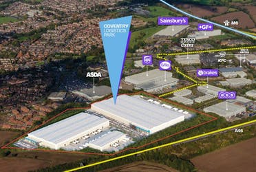 Unit 1, Coventry Logistics Park, Coventry, Industrial To Let - Coventry Logistics Park Overhead.JPG - More details and enquiries about this property