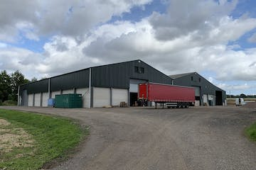 Building at Limmers, Stakes Lane, Bishops Waltham, Industrial To Let - Front plus Yard.jpg