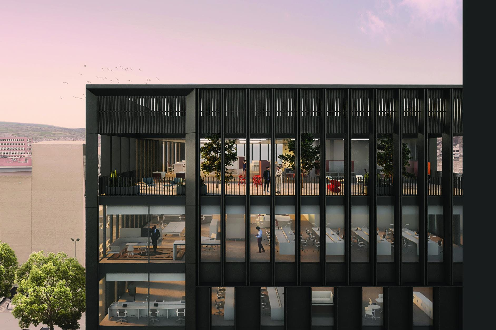 Block H2, Sheffield, Offices To Let - Block H2 - CGI Image 2.jpg