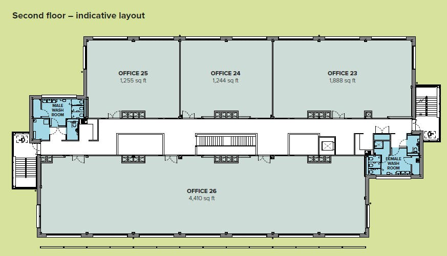 High Weald House, Bexhill Enterprise Park, Bexhill On Sea, Office To Let - 2nd fl Plan_edited.jpg