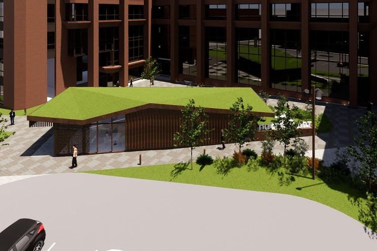 5th Floor Block D, Dukes Court, Woking, Offices To Let - Dukes court proposed external2.jpg