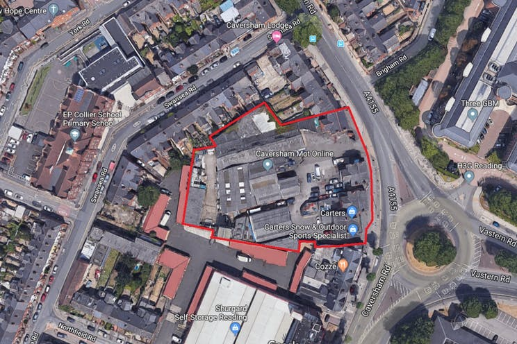 97A-117 Caversham Road, Reading, Development / Residential For Sale - Aerial Photo