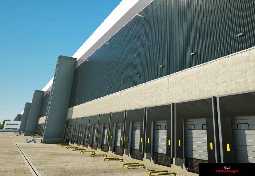 Midlands Logistics Park, Northamptonshire, Distribution Warehouse / Industrial (Multi Let Scheme) To Let - MLP CGI.JPG