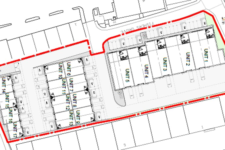 New Development Site, Fitzherbert Road, Portsmouth, Industrial / Trade Counter To Let / For Sale - Proposed Site Plan.PNG