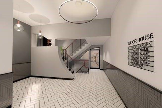 Tudor House, 35 Gresse Street, Fitzrovia, London, Office To Let - CGI entry.jpg