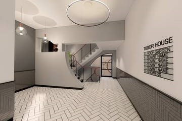 Tudor House, 35 Gresse Street, Fitzrovia, London, Office To Let - CGI entry.jpg