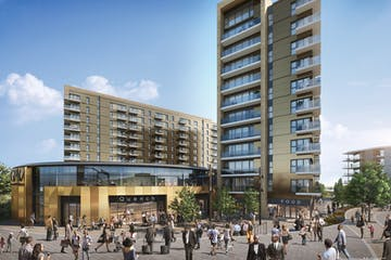 Unit 2 Green Park Village, Bankside Gardens, Reading, Retail To Let - GPV  Unit 2 view from GP Station.jpg