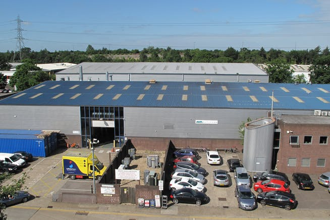 Byfleet 71, Abbott Close, Byfleet, Warehouse & Industrial To Let - aerosport_00017a.jpg