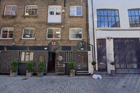 11-12 Charlotte Mews, London, Office To Let - Street View