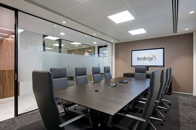 Eagle House, 108-110 Jermyn Street, London, Office / Serviced Office To Let - BennBridge Main Meeting Room.jpg